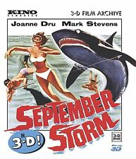 SEPTEMBER STORM (Joanne Dru) in 3-D - BLU RAY - Region A