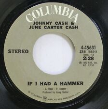 Country 45 Johnny Cash & June Carter Cash - If I Had A Hammer / I Gotta Boy (And