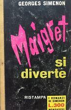 MAIGRET SI DIVERTE G. SIMENON  I501