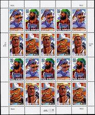 US Sc# 3083-86 Folk Heroes: Bunyan, Pecos Bill