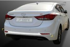Chrome Rear Bumper Garnish Molding for 10/2013 - 12/2015 Hyundai Elantra MD