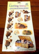 Store Stock Water Decals Candle Kitty Cat Decoupage School Teacher 20pc Lot