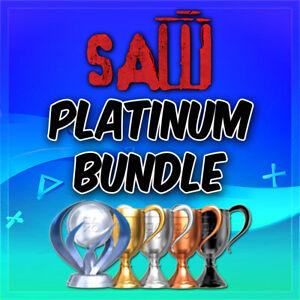 🔥SAW Platinum Trophy Service Bundle 1, 2, II +More PSN/PS3/PS4/VITA🔥