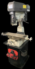 Msc 00685420 Step Pulley Mill Drill Machine Single Phase 3000 Rpm With Tooling