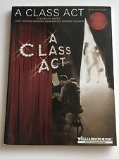 A Class Act , Vocal Selections,  A Musical About Edward Kleban Tony Award Winner