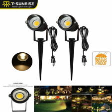 Solar Power LED Spotlight Waterproof Outdoor Garden Lamp Landscape Lights 3000K