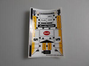 Lego® Speed Champions Zubehör 1x Sticker/Aufkleber Audi aus Set  76897 Neu