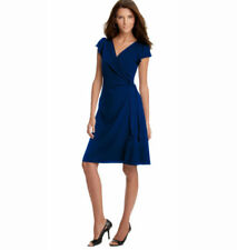 Wrap Dresses for Women with Cap Sleeve