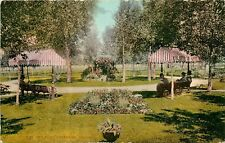 c1907 Mitchell Postcard 838 View in City Park, Cheyenne WY Laramie Co. Unposted