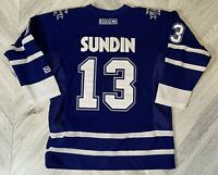 CCM Toronto Maple Leafs Mats Sundin Hockey Jersey - Blue Youth L/XL