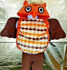 Owl Halloween Costume Infant Child Baby Toddler Size 0-9M Plush Boy Girl Animal