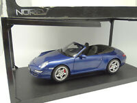 Norev 1/18 - Porsche 911 997 Cabriolet Bleue