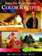 Helen Van Wyk's Favorite Color Recipes, Helen Van Wyk, Acceptable Book