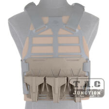 Tactical GRT Base Plate w/ 3 SMR Skeleton Magazine Pouch Retention Plate Frame