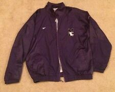 Reebok NorthWestern Wild Cats Zip Up Jacket Extra Large Big Ten XL