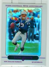 TOM BRADY 2005 TOPPS CHROME REFRACTOR #46 - HOF PATRIOTS