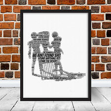 Spaceballs We Ain't Found Shi Funny Movie Quotes Word Art Gift Poster Schwartz