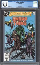 SWAMP THING #50 (1986) CGC 9.8 / 1st Justice League Dark! Alan Moore!