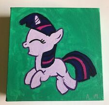 Filly Twilight Sparkle My Little Pony Friendship is Magic Portrait Paintings