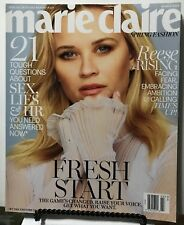 Marie Claire Fashion Fresh Start Reese Witherspoon March 2018 FREE SHIPPING JB