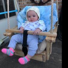 Wood Baby Swing Toddler Swing 10' Rope Per Side