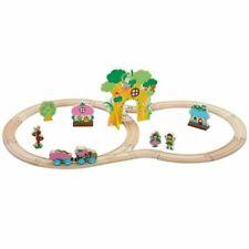 Orbrium Toys 100 Pieces Wooden Train Set (ORB-TS-100)