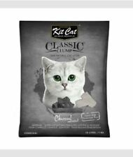 10L Kit Cat. Cat Litter Sand. KitCat - Charcoal Unscented