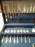 Rogers And Bros 1947 Silver Plated Flatware
