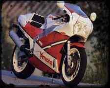 Bimota Yb6 Exup 1 A4 Metal Sign Motorbike Vintage Aged