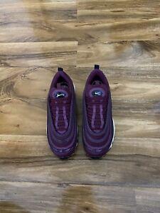 Nike Air Max 97 Premium  Bordeaux Size UK 6.5 U.K. Purple