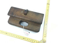 RARE ANTIQUE PRIMITIVE WOODEN ROUTER PLANE OPEN PLANE COLLECABLE