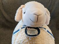 "18"" BATH & BODY WORKS LAMBIE SHEEP LAMB STUFFED ANIMAL PLUSH TOY Pink Face Bow"