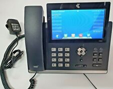 YEALINK SIP-T48G GIGABIT IP Touch Phone w power adapter, 1year w/ty. Tax invoice