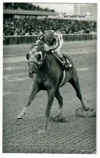 SECRETARIAT & RON TURCOTTE RARE 2013 PANINI BOX TOPPER HORSE RACING EXHIBIT CARD