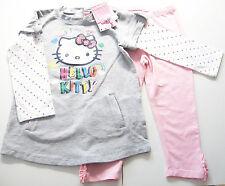 Hello Kitty set talla 92 Baby Club nuevo vestido m.e pantalones Long túnica leggings niños