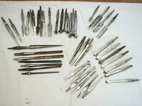 Lot 45 Antique Brace Bits Drill Wood Boring Tool Hand Forged Spoon Sorby Marples