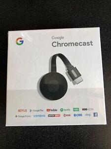NEW Factory Sealed Google Chromecast Digital HDMI Media Streaming-Black
