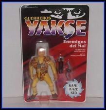 VINTAGE 1988 HASBRO GUERREROS YAKSE NINJA WARRIORS - KAMIKAZE KID - NIP - RARE!