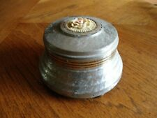 Vintage Notre Dame Fight Song Music Box/Powder Puff from 1950's