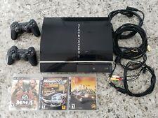 PS3 60gb 60GB CECHA01 FW v4.21 Backwards Compatible PS1 PS2 Console Playstation