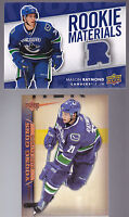 07-08 Upper Deck Mason Raymond Jersey Rookie Materials Maple Leafs
