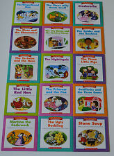 Fairy Tale Book Set Homeschool Kindergarten Grade 1 2 Guided Reading Level EFGHI