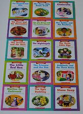 Fairy Tale Book Set Homeschool Kindergarten Grade 1 2 Guided Reading Level EFGHI