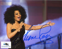DIANA ROSS AUTOGRAPH SIGNED 8X10 PHOTO THE SUPREMES COA