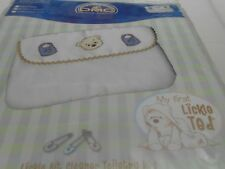 DMC My First Lickle Ted Toiletry Bag Counted Cross Stitch Kit