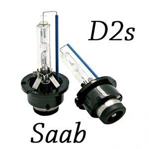 Saab 9-3 2003-2007 HID Xenon D2S Replacement Bulb Lights OEM Plug N Play Pair