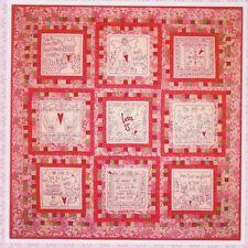 Love Is - sweet stitchery & pieced quilt PATTERN - Rosalie Quinlan
