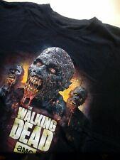 Mens The Walking Dead Black Crew Neck Short Sleeve T Shirt Large L