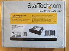 Star tech 3.5in. Trayless Hot swap SATA Mobile Rack HSB100SATBK