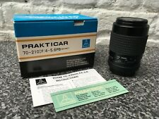Prakticar 70 - 210mm 4-5.6 lens Excellent condition with box